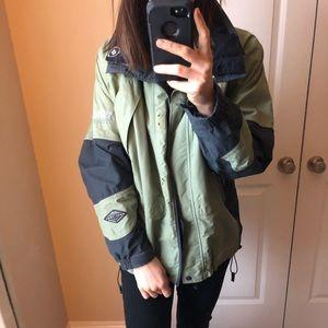 Columbia Omnitech titanium waterproof jacket